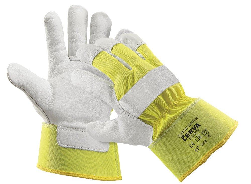 Produkt - Reflexní rukavice Curlew zimní žlutá 10,5
