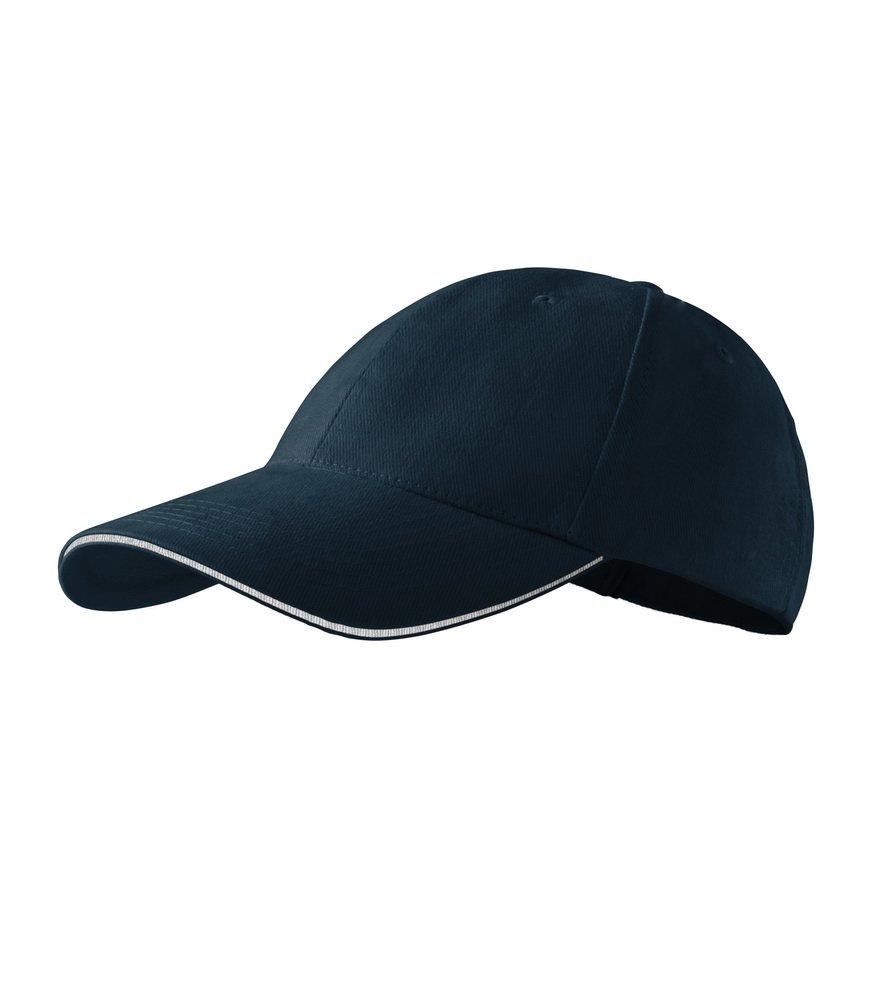 Produkt - Kšiltovka Sendwich 6P tmavě modrá