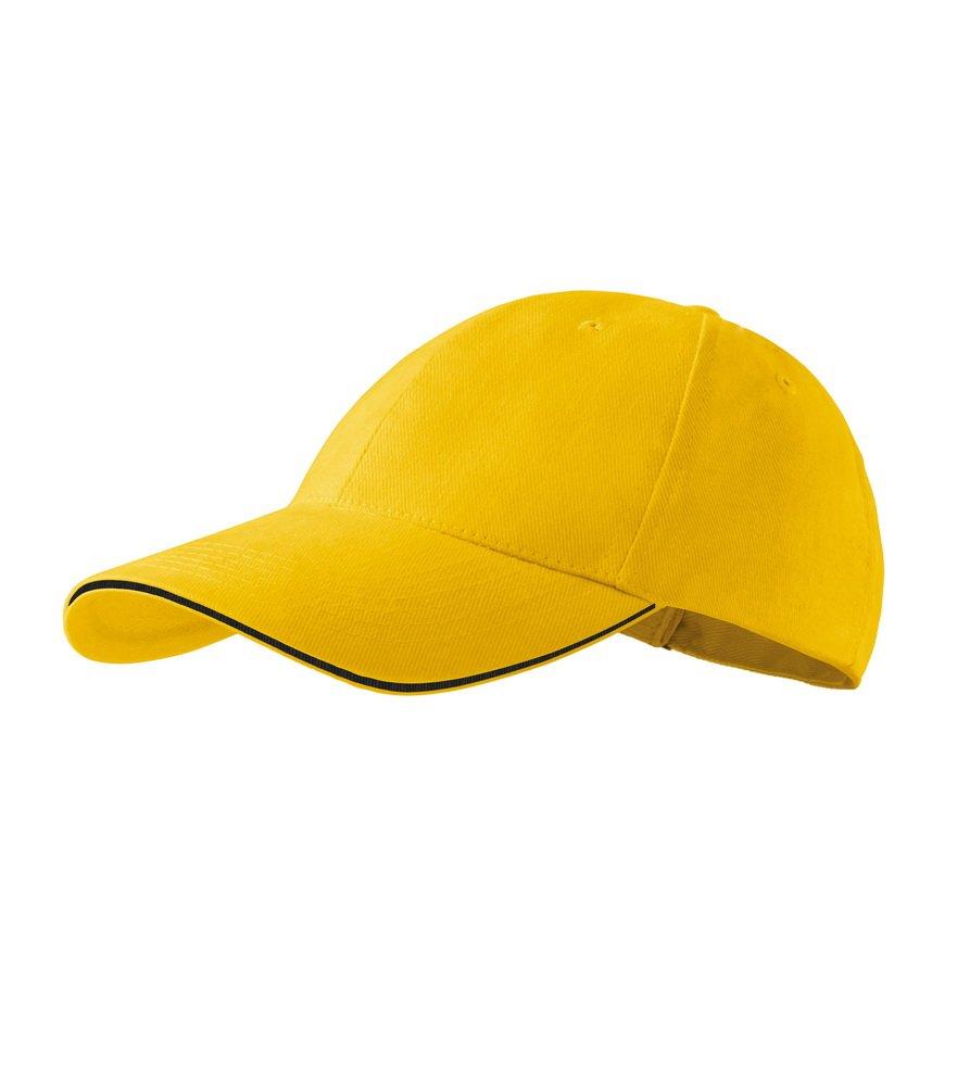 Produkt - Kšiltovka Sendwich 6P žlutá