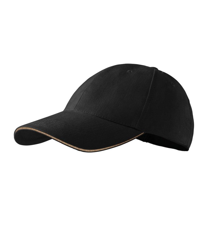Produkt - Kšiltovka Sendwich 6P černá