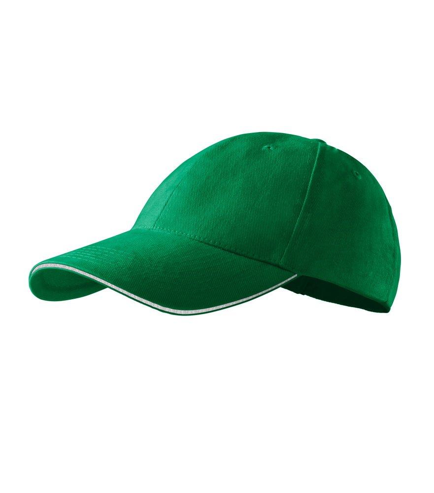 Produkt - Kšiltovka Sendwich 6P středně zelená