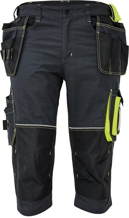 Produkt - Pracovní 3/4 kalhoty Knoxfield 320 antracit-žlutá 46
