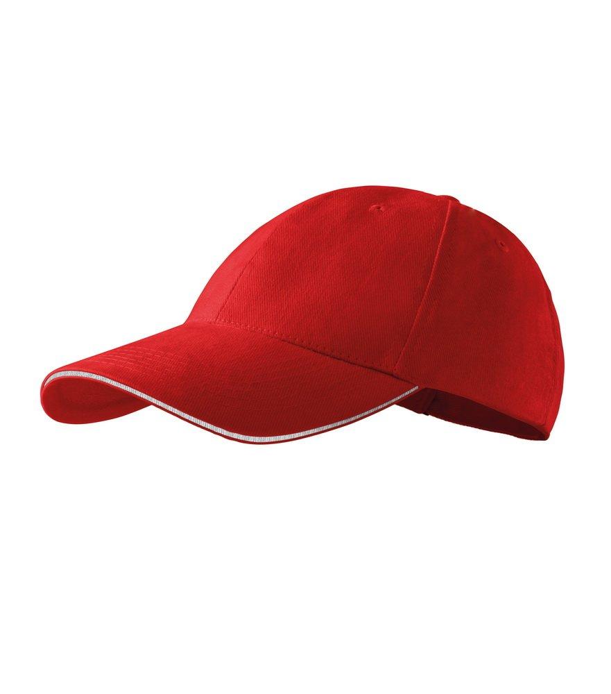 Produkt - Kšiltovka Sendwich 6P červená