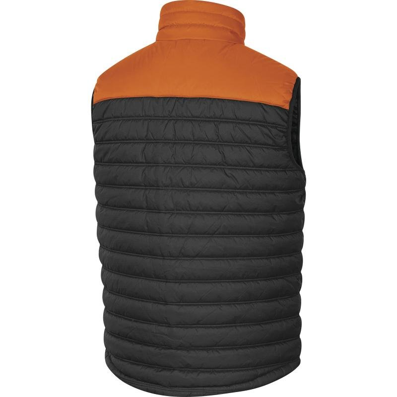 Produkt - Zimní vesta G-DOON šedá-oranžová L