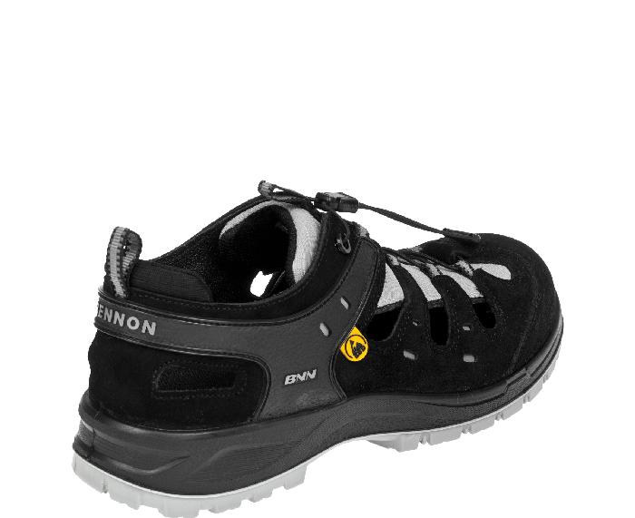 Produkt - Bezpečnostní sandál Bombis Lite S1P ESD černá 41