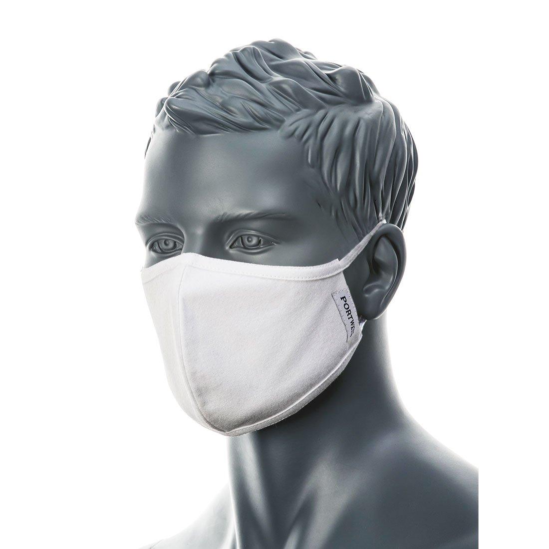 Produkt - 2-vrstvá antimikrobiální látková rouška CV22 25 ks bílá