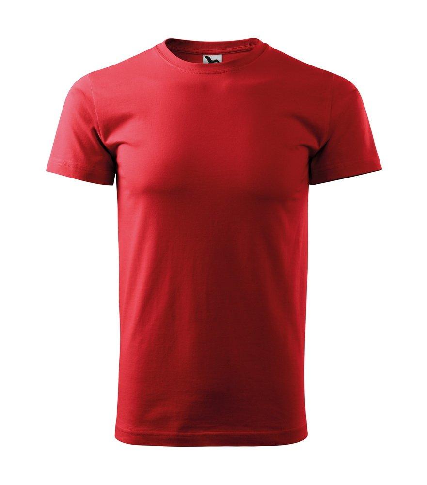 Produkt - Triko Basic pánské červená S