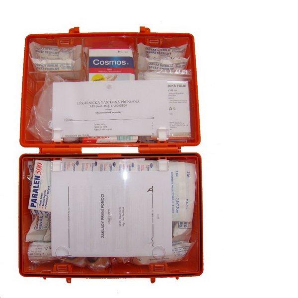 Produkt - Lékárnička nástěnná přenosná s rozšířeným obsahem 28253B/05