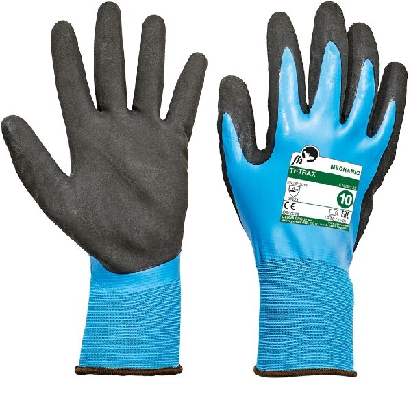 Produkt - Latexové rukavice Tetrax 7