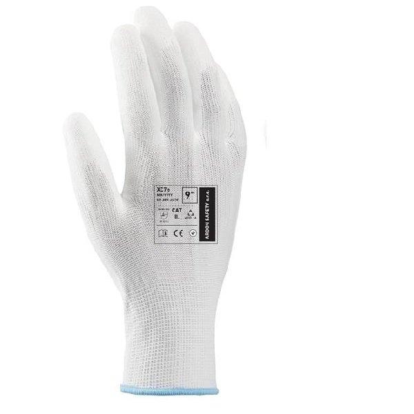 Produkt - PUR rukavice XC7e bílá 6