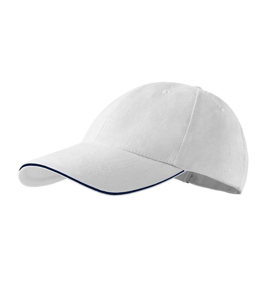 Produkt - Kšiltovka Sendwich 6P bílá